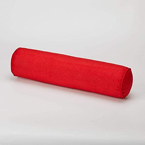 HMMHHE Almohadas para Almohadas para el Cuello para Dormir Almohadas de algodón Soporte de Cabeza Almohada Cama de Almohada Multi Tamaño Durmiendo Bolster Removible Cintura Pad-D