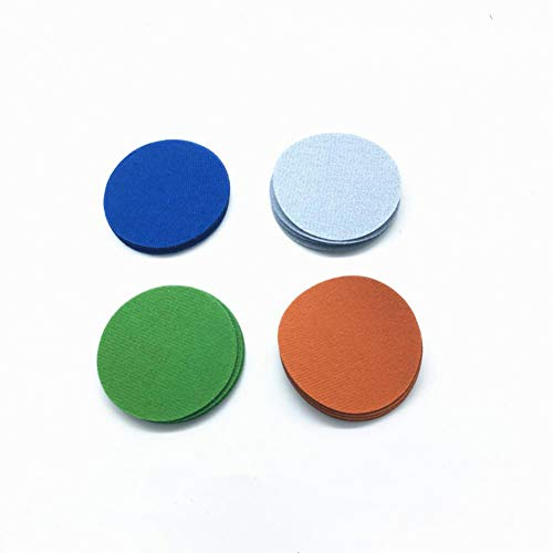 FANLLOOD Rundes Sandpapier 20ps125mm Wasserschleifpapier Schleifpapier 5-Zoll-Körnung 3000-10000 fr Flockschleifpapier Pad Schleifscheibe Elektroschleifzubehör