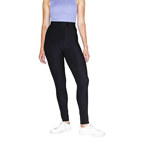 American Apparel Women's The Riding Pant, black, Small