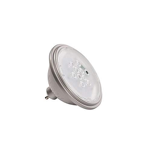 SLV GU10 ES111 SMART LED Leuchtmittel VALETO (1st Generation), 11,1 cm Ø | Alexa-kompatibel (Amazon Echo), 9,5 W, 830 Lumen Lichtstrom, RGBW |dimmbare LED-Lampe mit EEK A+, 10 kWh Energieverbrauch