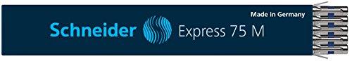 Schneider Express 75 M Kugelschreiber Mine (dokumentenecht) 10er Packung blau
