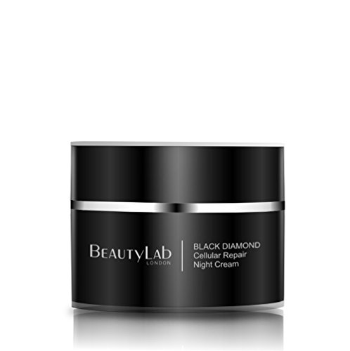 BeautyLab Black Diamond Cellular Repair Night Cream 50ml, Anti-âge & Anti-Rides