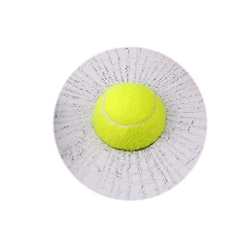 Porfeet Auto Aufkleber, Lustige 3D Tennisball Basketball Fußball Hit Fenster Riss Aufkleber Dekoration Weißer Fußball