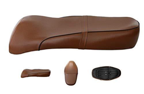 Sitz Sitzbank Braun für Retro Roller Benzhou Znen Yiying Yiben Retro Sitz