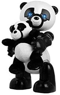 Electronic Robot Panda with Baby Panda
