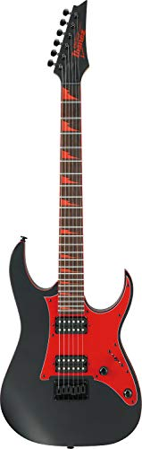 Ibanez GRG131DX-BKF Chitarre elettriche metallo/moderno, piatto nero