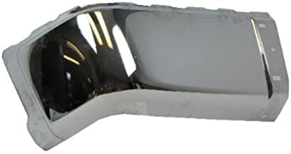 2007-2012 CHEVY SILVERADO (NEW STYLE) / 2007-2012 GMC SIERRA (NEW STYLE) REAR BUMPER CAP CHROME (STEEL) WITHOUT SENSOR HOLE LH=DRIVER SIDE