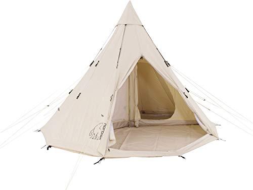 NORDISK(ノルディスク) アウトドア テント アルヘイム12.6 ホワイト 6人用 【日本正規品】 242013