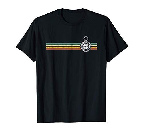 Vintage Geocaching TShirt Compass Geocacher Cache GPS T-Shirt