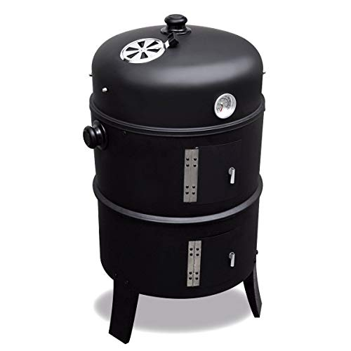 Rookoven Black Smoker 2-in-1 rookoven&barbecue