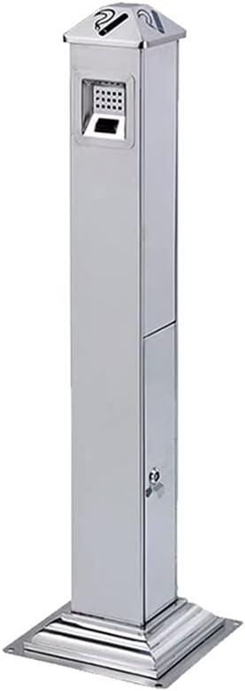 QLIGHA Regular discount Stainless Steel Ash Jacksonville Mall Column and Vertical Indoor Outdoor Fl