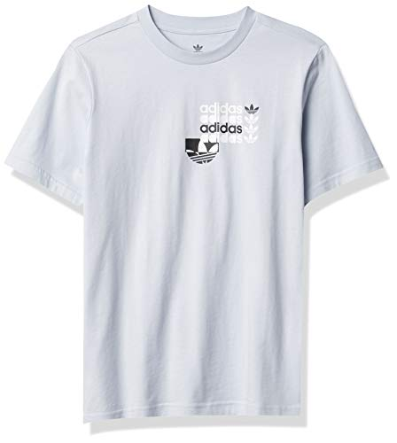 adidas Originals Camiseta unisex para jóvenes - azul - Small
