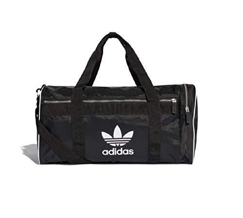 Adidas Trefoil Duffle Sports Bag Holdall, Black