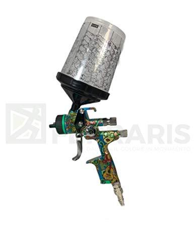 SATA Pistola de pulverización Jet 5500 Special Edition Hippie Digital HVLP 1.3 Boquilla I