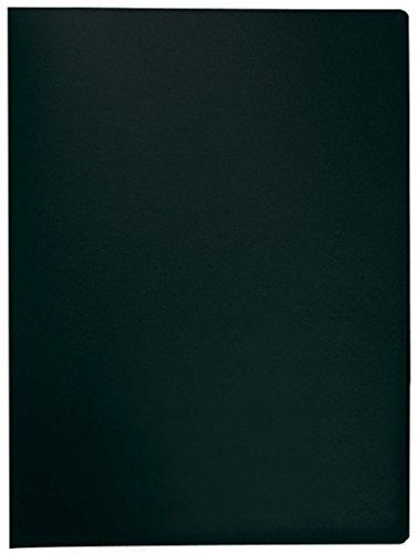 Q-Connect KF01252 Sichtbuch - 20 Hüllen, Einband PP, 450 mym, schwarz