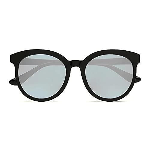 Gafas De Sol para Hombre,Gafas De Sol para Mujer Gafas De Sol para Hombres Y Mujeres Gafas De Sol De Conducción Polarizadas Anti-Ultravioleta Retro Foto Modelado Moda (Color : Black)