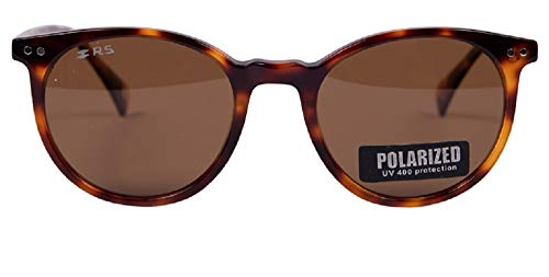 Renault Sport – Gafas de sol para mujer, lentes polarizadas antirreflectantes, color marrón