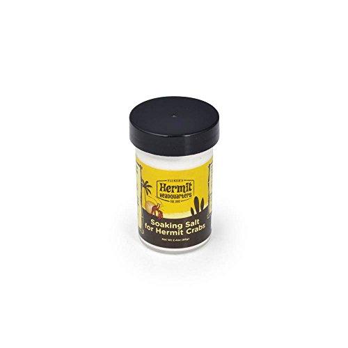 Flukers Soaking Salt for Hermit Crabs, 2.4-Ounce