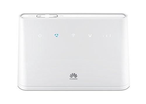 Huawei B310 Desbloqueado 4G/LTE Super Fast Wi-Fi Router- Producto Original de garantía del Reino Unido (no Logotipo de la Red) -Blanco