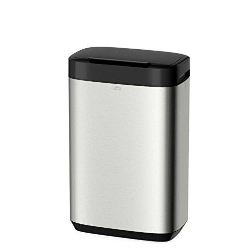 Tork 460011 Edelstahl Abfallbehälter, 50 L