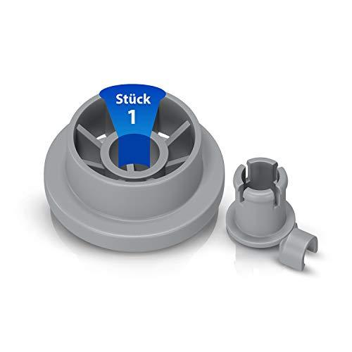 Korbrolle Rolle Laufrolle Ersatz für Bosch Siemens Constructa Neff 00165314 165314 Ersatzteile für Geschirrkorb Spülmaschine Geschirrspülmaschine Unterkorb Geschirrspüler