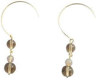 SE DIPITY Triple Bead Drop Dangle Earrings