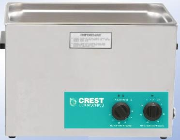 Hot Sale Crest 2.5 Gallon CP1200HT Ultrasonic Heated Cleaner
