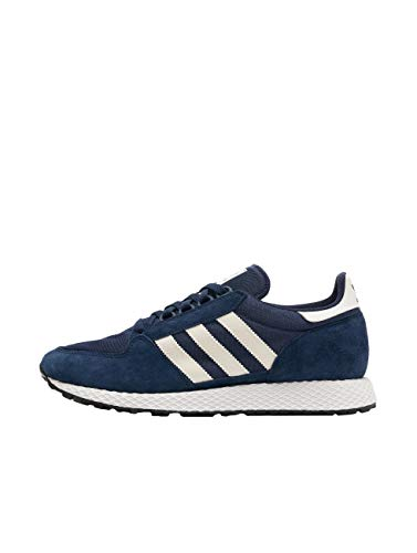 adidas Forest Grove Zapatillas de Gimnasia Hombre, Azul (Collegiate Navy/Cloud White/Core Black Collegiate Navy/Cloud White/Core Black), 40 2/3 EU (7 UK)