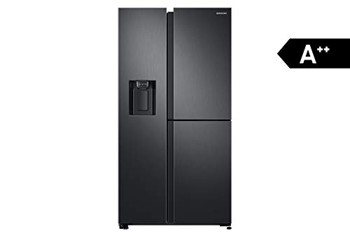 Samsung RS8000 RS6GN8671B1/EG 3 Door Side-by-Side / A++ / 604 ℓ / Premium Black Steel / Twin Cooling+ / Metal Cooling / No Frost+