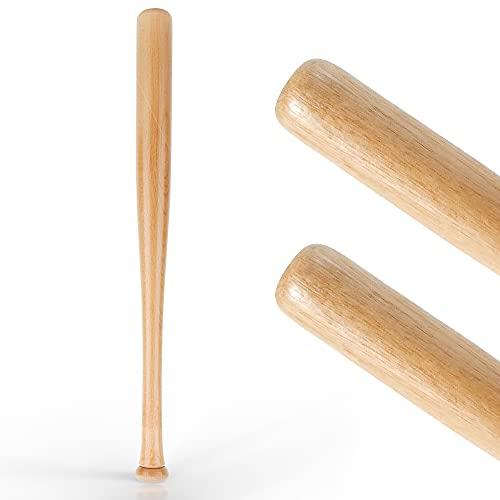 EmpireAthletics Mazza da Baseball Legno 25 Inches / 64 cm - Baseball Bat Senza Logo - Baseball Tempo Libero Sport Training Outdoor Practice Bat
