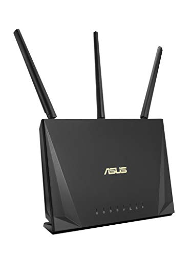 ASUS RT-AC65P - Router Doble-Banda AC1750 Gigabit (Triple VLAN, MU-MIMO, USB 3.1, Modo Punto Acceso/Repetidor/Bridge)