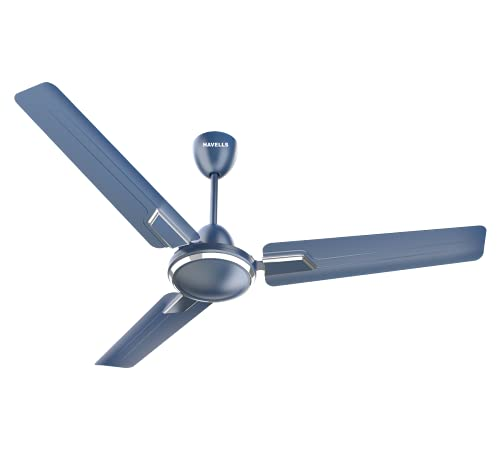 Havells Andria 900mm Sweep Dust Resistant Ceiling Fan (Indigo Blue)