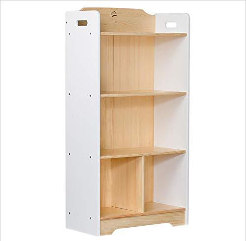 MODYL kinderen massief houten geheugen-leesboek multifunctioneel boekenrek eenvoudige boekenkast