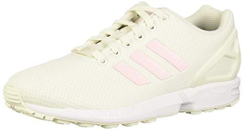 adidas Damen ZX Flux W Leichtathletik-Schuh, White Tint S18 Clear Pink Core Black, 41 1/3 EU