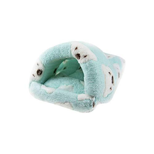 Balacoo Hamster Slaapzak Cavia Winter Warm Huis Bed Wasbaar Katoenen Hangmat Kleine Dieren Opknoping Nest Kooi voor Rat Egel Chinchilla