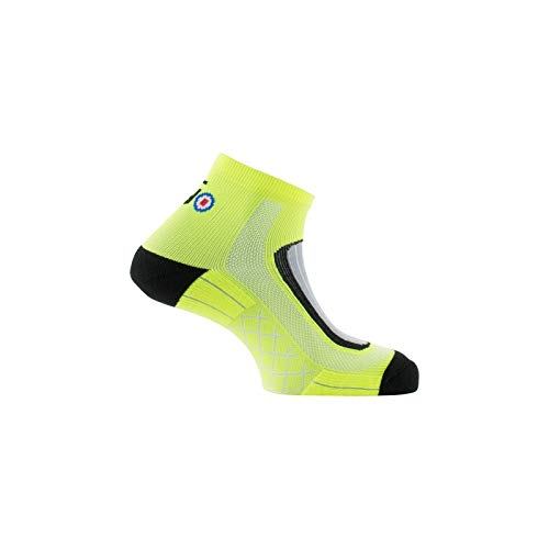 Thyo - Socquettes Run-Lighty made in France - couleur - Jaune - Pointure - 35-37