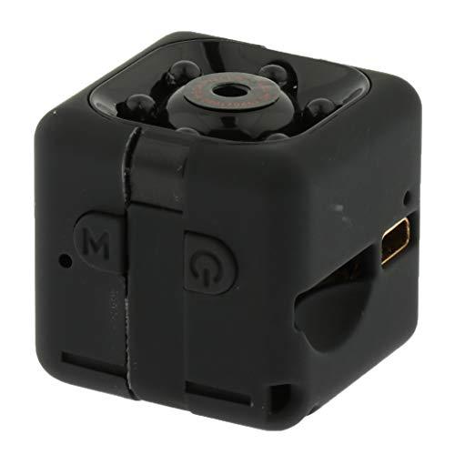 IPOTCH Cámara de Tamaño Pequeño SQ11 HD 720P, Cámara DV Portátil para Oficina en Casa (Negro)