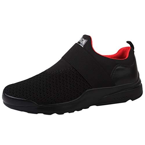 Homme Chaussure de Sport,Overmal Baskets Haute Multi-Sports en Outdoor Garçon Mode Casual Light Comfortable Antidérapant Running Shoe Sneakers