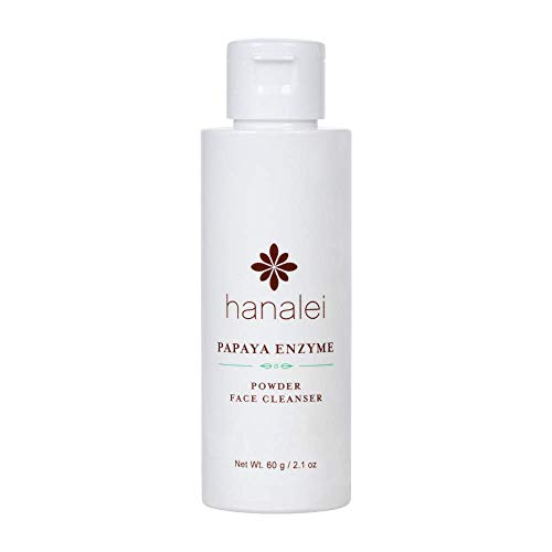 Powder Face Cleanser by Hanalei (Cruelty free, Paraben free) (Papaya 60g)