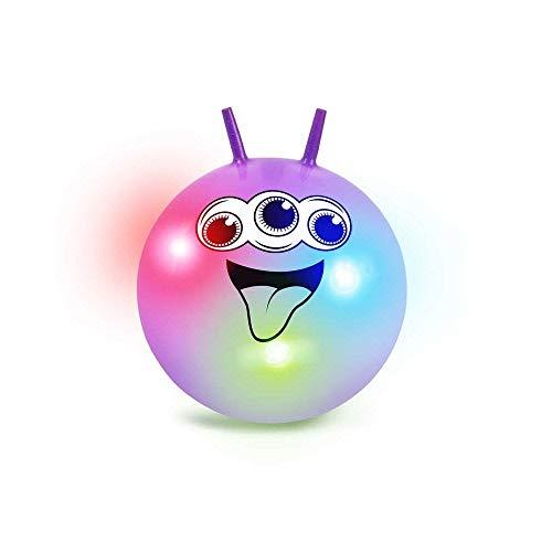 Tobar 29672 - Bola para Saltar con Luces, Color neón