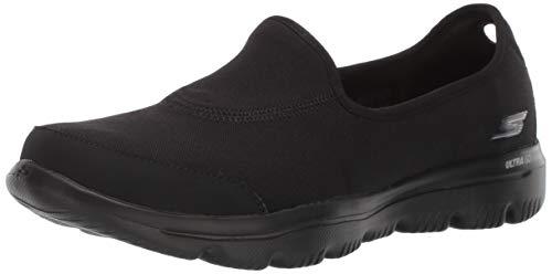 Skechers Women GO Walk Evolution Ultra - Legacy Sneaker Black 7 W US