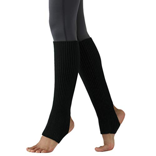 ZZBO Yoga Socken Boot Cover für Damen over the Knee Stulpen Pilates Fitness Anti-Rutsch Socken Gestrickt Beinstulpen Kniestrümpfe Klassische Winter Stiefel Socken Beinwärmer Oberschenkel Leggings
