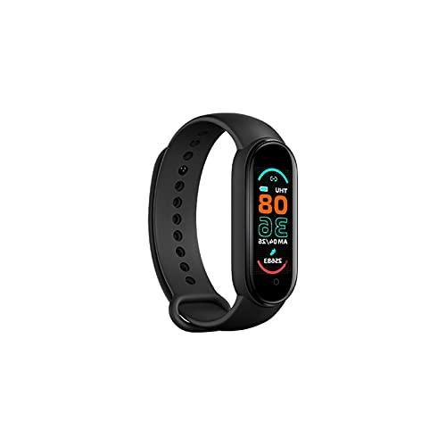 NMSL M6 Smart Watch, Pulsera Inteligente Pulsera Deportes Sports Monitoring Pedómetro Tasa del Corazón Presión Arterial Dormir Monitoreo Monitoreo Llamada Color Pantalla Impermeable Deportes Pulsera