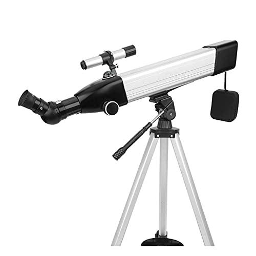 AMAFS Telescopios de Auriculares Bluetooth para astronomía, 168 x 60 mm de Apertura Telescopio de Montaje AZ de 500 mm con óptica Totalmente Multicapa, telescopios para astronomía para niños para