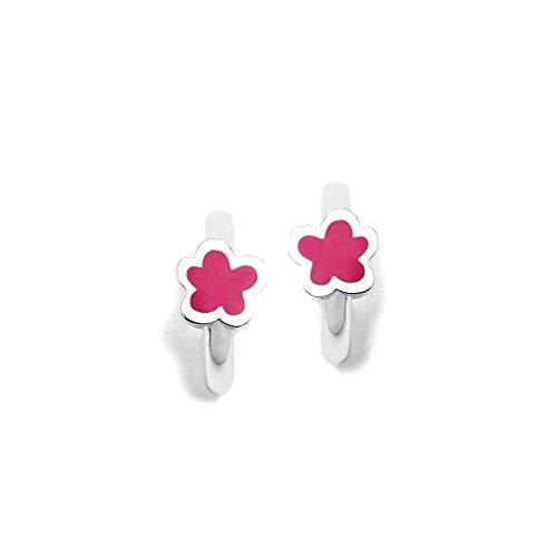 Sterling Silver Earrings 925M Agatha Ruiz De La Prada Collection Agatha Criollas Rings Pink Cloud