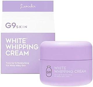 GR G9スキン ホワイト ホイッピング クリーム ラベンダー (50g) 化粧下地 フェイスクリーム