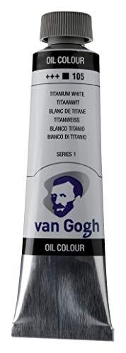 Van Gogh - Aceite de pintura TITNM, color blanco titanio, talla única