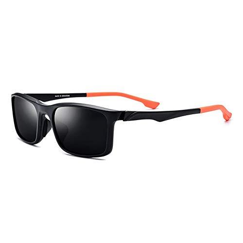 LG Snow Gafas Deportivas TR90 for Montar En Bicicleta Al Aire Libre Gafas De Sol Polarizadas Lentes Unisex Gris Protección UV400 (Color : Orange)