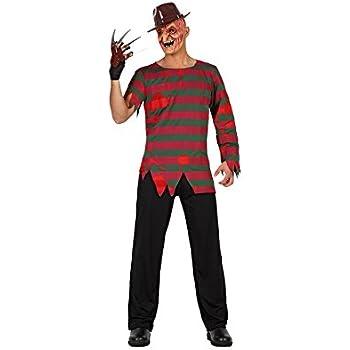 Atosa Freddy Krueger Disfraz Adulto - Talla XS-S: Amazon.es ...
