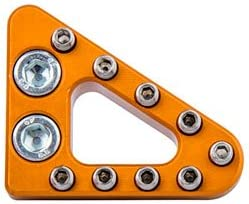 Clean Speed Baltimore Mall Standard Brake Pedal Pad XCF-W Orange 20 Outlet sale feature 350 for KTM